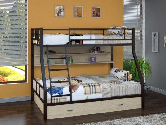 Кровать двухъярусная металлическая Гранада-1ПЯ 3