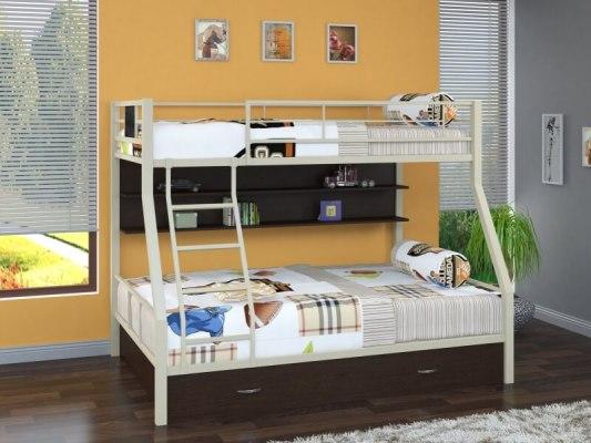 Кровать двухъярусная металлическая Гранада-1ПЯ 2