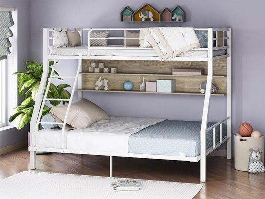 Кровать двухъярусная металлическая Гранада-1П 140 1