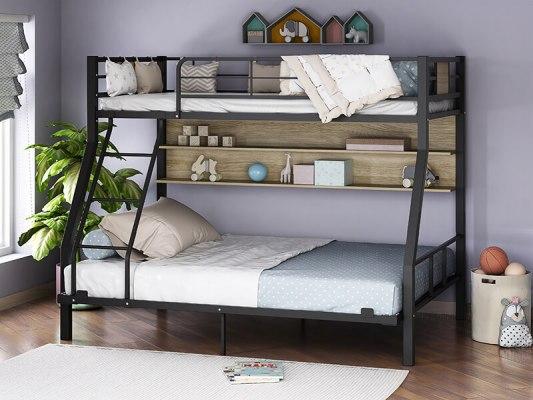 Кровать двухъярусная металлическая Гранада-1П 140 4