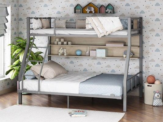 Кровать двухъярусная металлическая Гранада-1П 140 2