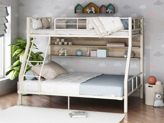 Кровать двухъярусная металлическая Гранада-1П 140 3