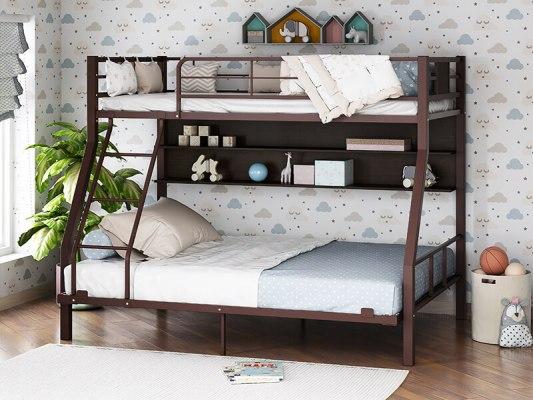 Кровать двухъярусная металлическая Гранада-1П 140 5