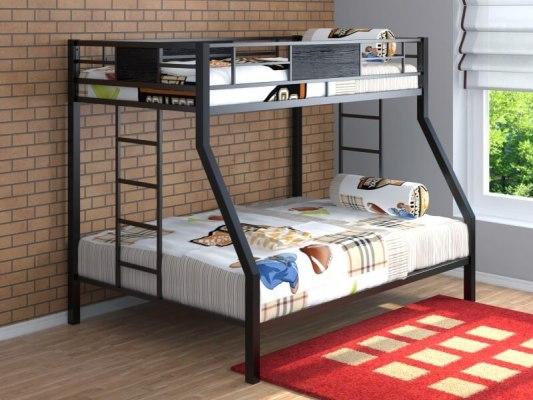 Кровать двухъярусная металлическая Гранада 1