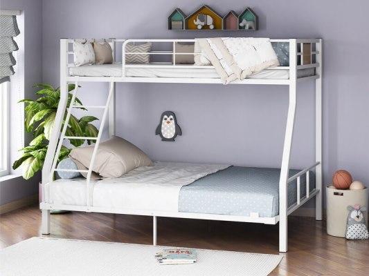Кровать двухъярусная металлическая Гранада-1 140 6
