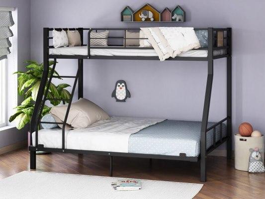 Кровать двухъярусная металлическая Гранада-1 140 5