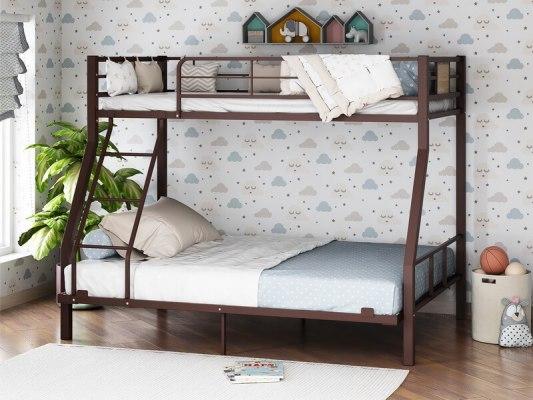 Кровать двухъярусная металлическая Гранада-1 140 4