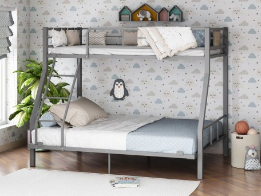 Кровать двухъярусная металлическая Гранада-1 140 2