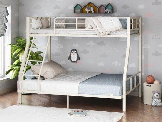 Кровать двухъярусная металлическая Гранада-1 140 1