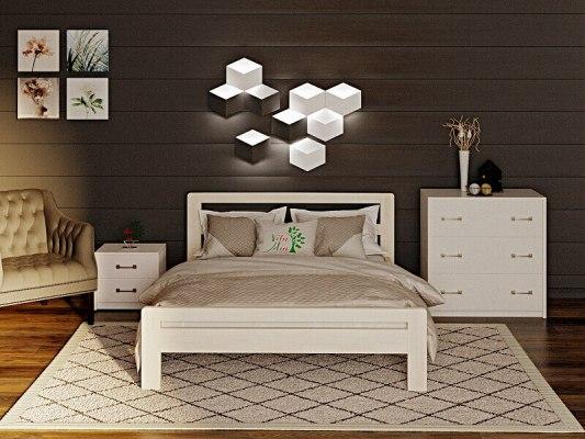 Кровать деревянная Vita Mia Kalinka (Калинка) 2