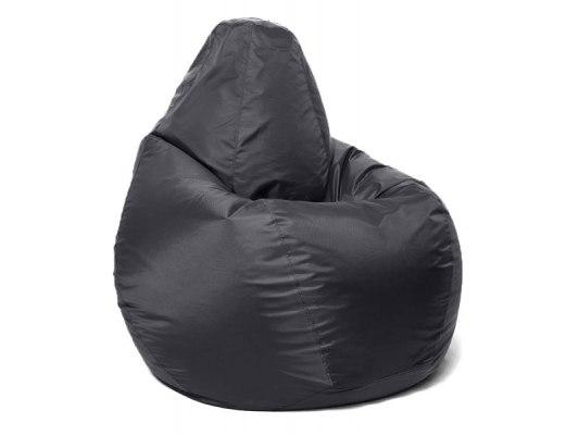 Кресло мешок Relaxline Груша в черном оксфорде 1
