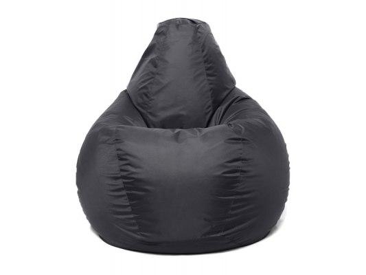 Кресло мешок Relaxline Груша в черном оксфорде 2