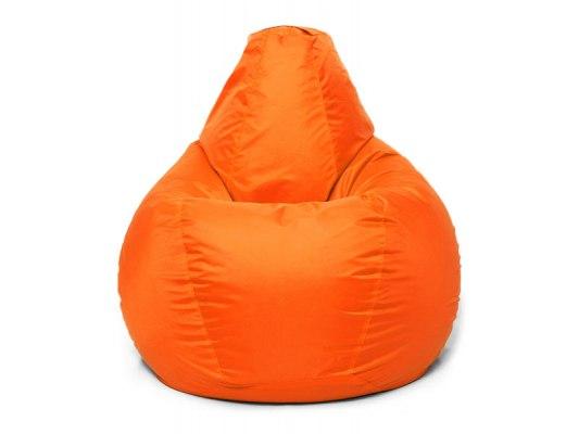 Кресло мешок Relaxline Груша в оранжевом оксфорде 2