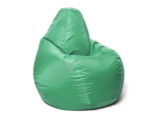 Кресло мешок Relaxline Груша в зеленом оксфорде 1