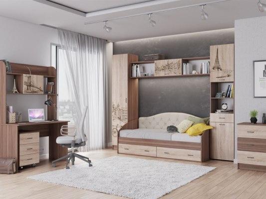 Детская кровать ТЭКС Орион с ящиками 2