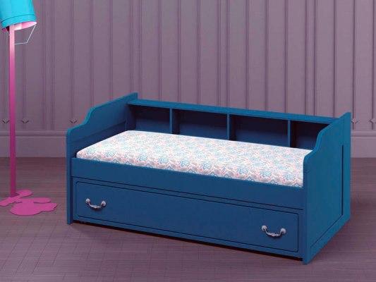 Кровать с выкатным спальным местом PinoLetto Oskar ( Оскар ) 1