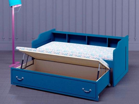 Кровать с выкатным спальным местом PinoLetto Oskar ( Оскар ) 2