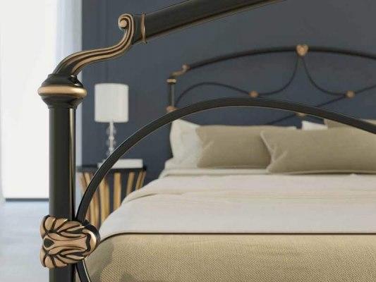 Кровать металлическая Dream Master Laiza (2 спинки) 5