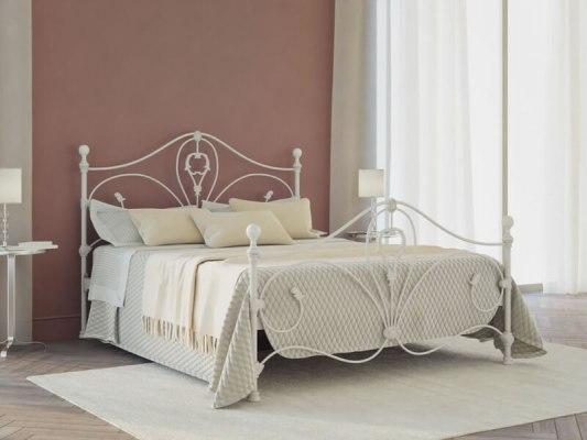 Кровать металлическая DreamLine Melania (2 спинки) 1