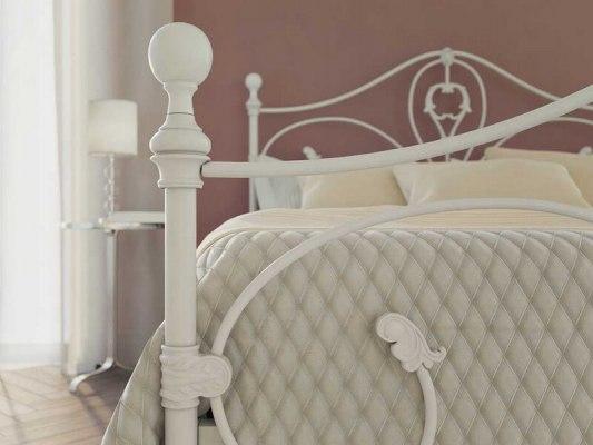 Кровать металлическая DreamLine Melania (2 спинки) 2