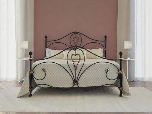 Кровать металлическая DreamLine Melania (2 спинки) 3