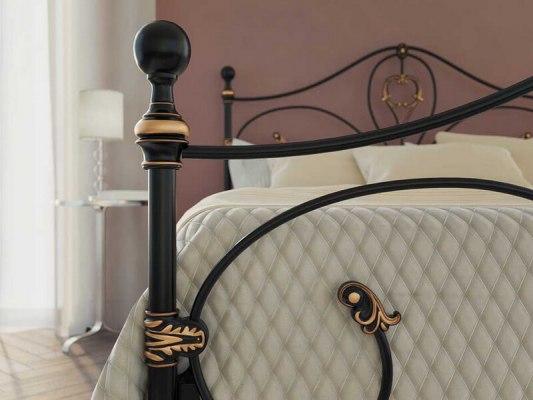 Кровать металлическая DreamLine Melania (2 спинки) 4