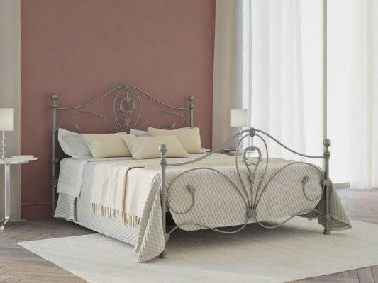 Кровать металлическая DreamLine Melania (2 спинки) 5