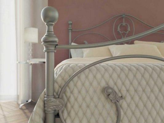 Кровать металлическая DreamLine Melania (2 спинки) 6