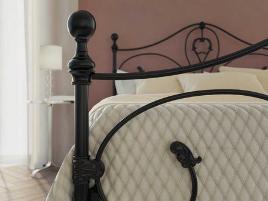 Кровать металлическая DreamLine Melania (2 спинки) 8