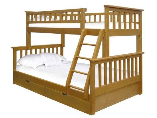 Двухъярусная 3-х местная кровать Vita Mia Modern (Модерн) 5