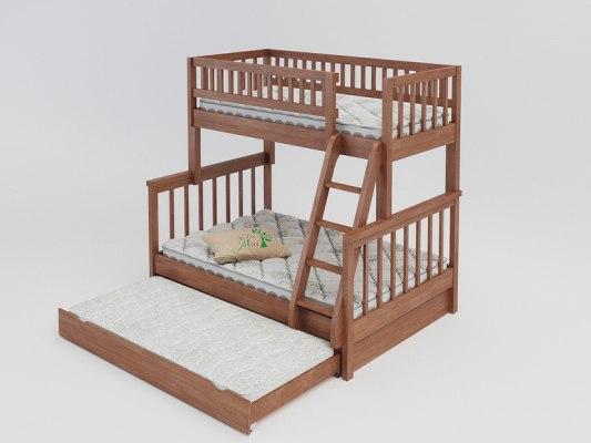 Двухъярусная 3-х местная кровать Vita Mia Modern (Модерн) 4