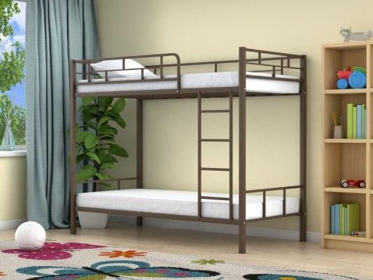 Кровать двухъярусная металлическая Ницца 1