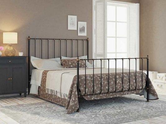 Кровать металлическая DreamLine Paris (2 спинки) 1