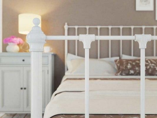 Кровать металлическая DreamLine Paris (2 спинки) 4