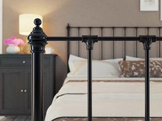 Кровать металлическая DreamLine Paris (2 спинки) 6