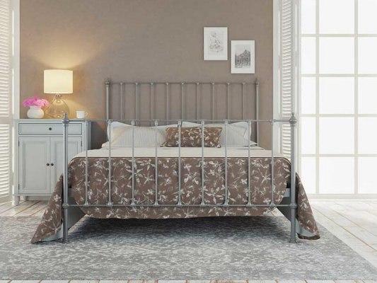 Кровать металлическая DreamLine Paris (2 спинки) 7