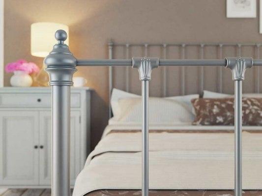 Кровать металлическая DreamLine Paris (2 спинки) 8
