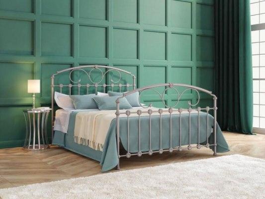 Кровать металлическая DreamLine Rosaline (2 спинки) 3