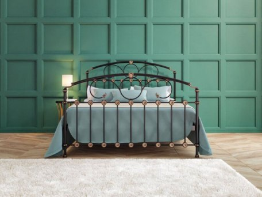 Кровать металлическая DreamLine Rosaline (2 спинки) 4