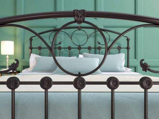 Кровать металлическая DreamLine Rosaline (2 спинки) 6