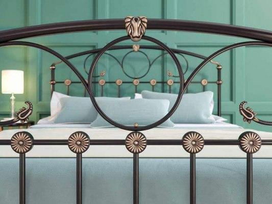Кровать металлическая DreamLine Rosaline (2 спинки) 7