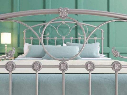 Кровать металлическая DreamLine Rosaline (2 спинки) 8