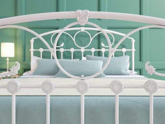 Кровать металлическая DreamLine Rosaline (2 спинки) 2