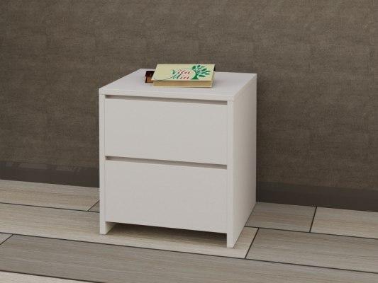 Тумба прикроватная деревянная Vita Mia Mizuki (Мизуки) 2 ящика 1