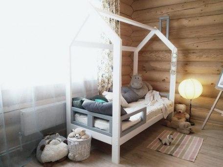 Кровать KidVillage Юта-3 (массив бука) 2